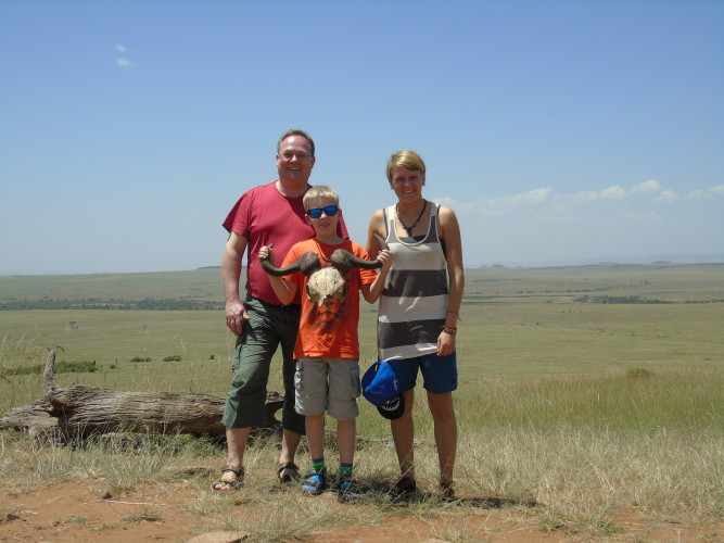 Besuch aus Dtld Teil 1 - Nairobi + Safari
